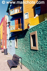 Le quartier de La Boca - Buenos Aires (Argentine)