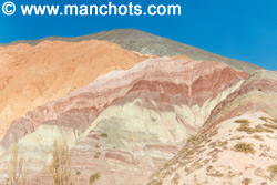 Colline aux 7 couleurs - Purmamarca (Argentine)