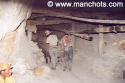Dans les mines de Potosi (Bolivie)