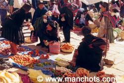 Marché de Tarabuco (Bolivie)