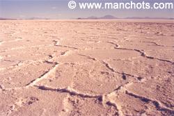 Le désert de sel de Uyuni (Bolivie)