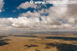 Altiplano depuis le ciel (Bolivie)
