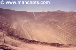 Mine de cuivre - Chuquicamata (Chili)