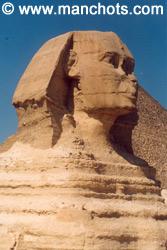 Sphynx - Gizeh (Egypte)