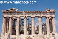 Parthénon, Acropole - Athènes (Grèce)