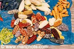 Maïs au marché de Pisac (Pérou)